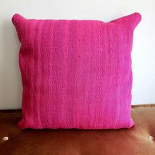 Load image into Gallery viewer, Berber Wool Pillow - Vintage Moroccan Floor Cushion VKFP044