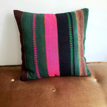 Load image into Gallery viewer, Berber Wool Pillow - Vintage Moroccan Floor Cushion VKFP045