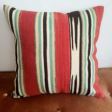 Load image into Gallery viewer, Berber Wool Pillow - Vintage Moroccan Floor Cushion VKFP059