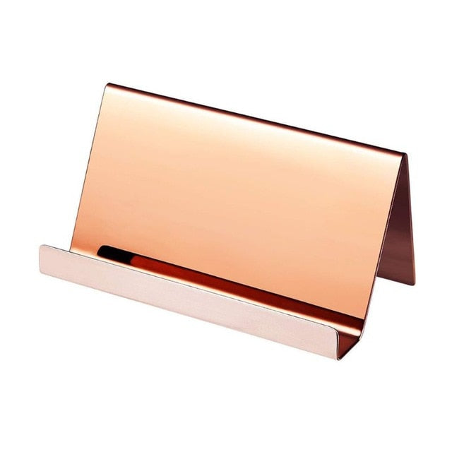 Stainless Steel Card Holder - Harper Capital Solutions