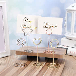 Heart Photo Clip Table Stand - Harper Capital Solutions