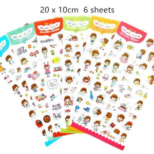Cartoon Animals Sticker - Harper Capital Solutions