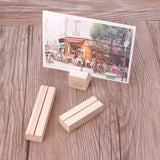 Natural Wood Memo Holder - Harper Capital Solutions