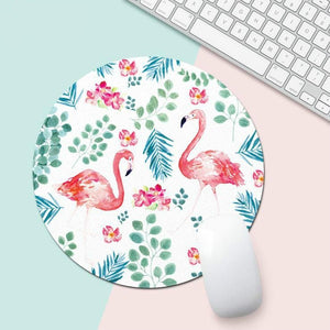 Flamingo Office Desk Mat - Harper Capital Solutions