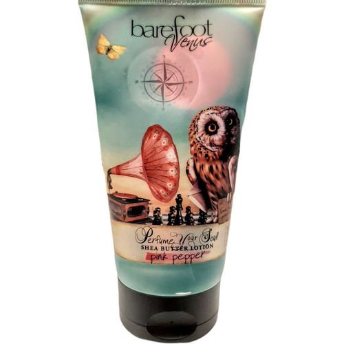 Pink Pepper Shea Butter Lotion by Barefoot Venus