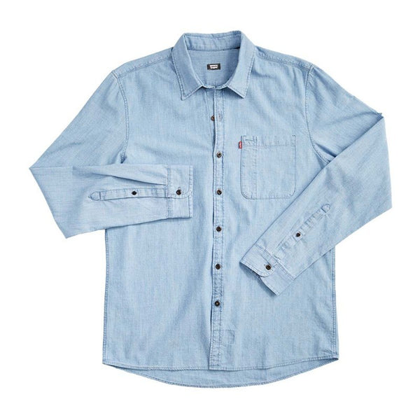 Riveter LS Button up - Washed Chambray