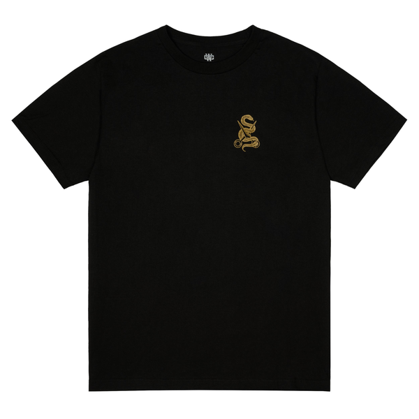 WC Barbershop T-Shirt - Black/Gold