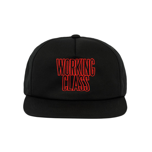 Class Act Snapback Hat - Black/Red