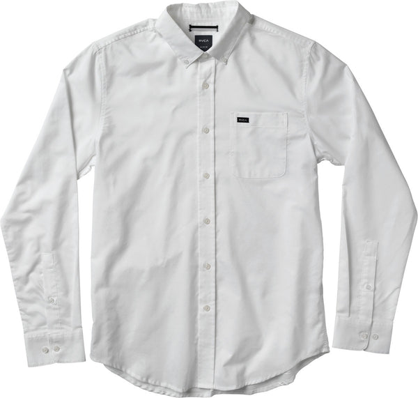 "RVCA ""That'll Do Oxford"" LS button up"
