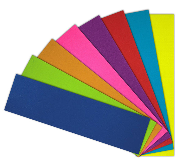 "Jessup Coloured Griptape Sheet -  9"" Assorted"