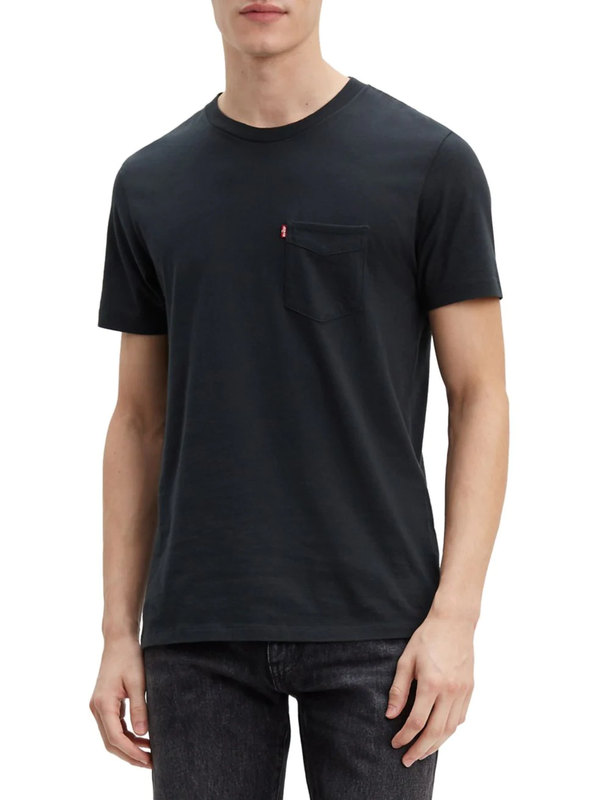 Sunset Pocket T-Shirt - Mineral Black