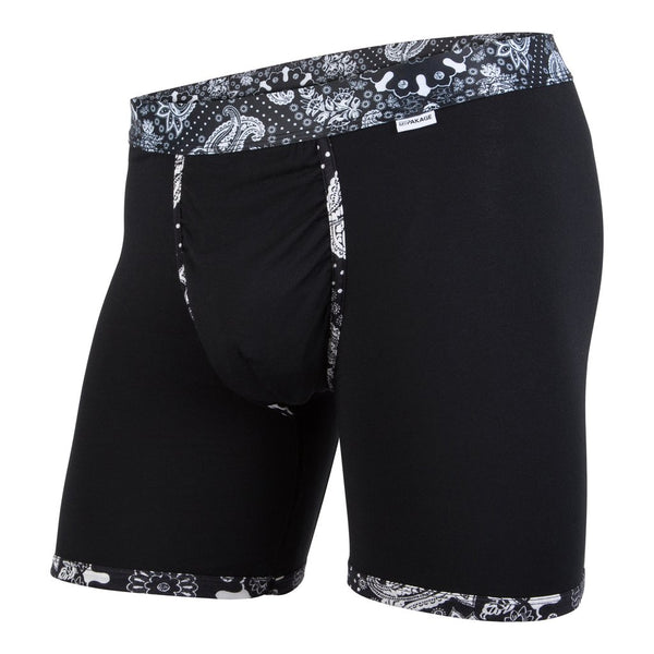 Weekday Boxer - Black Paisley
