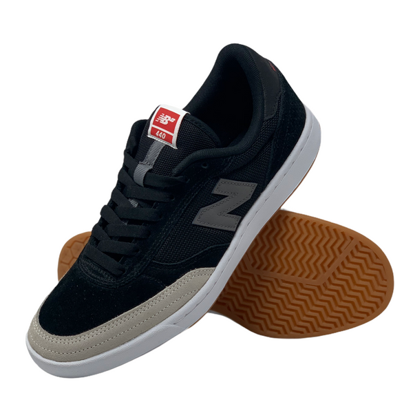 New Balance Numeric 440 Shoe - Black/Grey