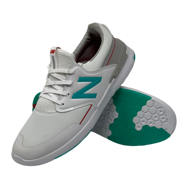 AC 659 Shoe - White/Aqua