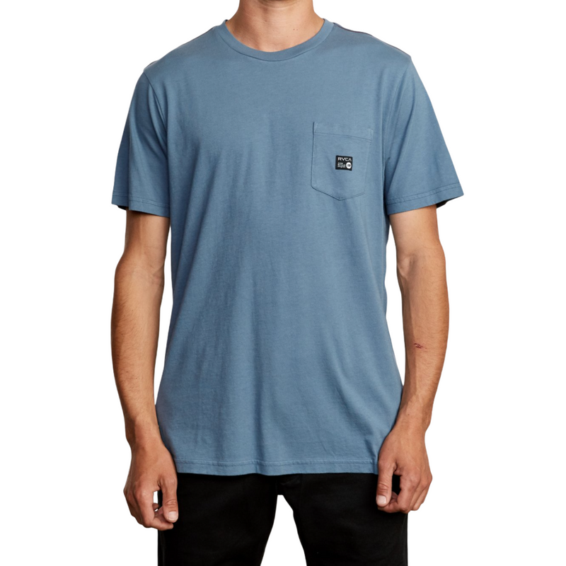 ANP Pocket T-Shirt - China Blue