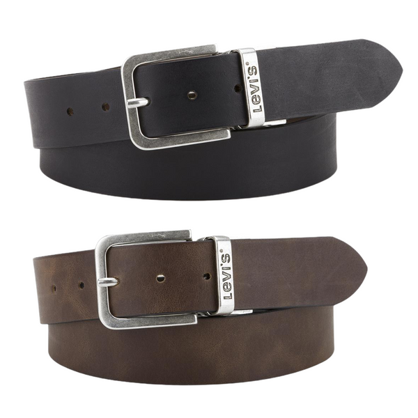 LEVI'S REVERSIBLE CORE BELT - BLACK/BROWN