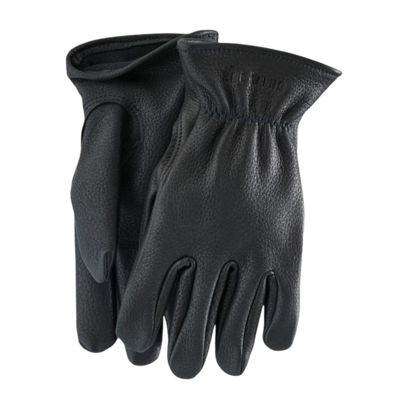 Red Wing Buckskin Lined Glove - Black