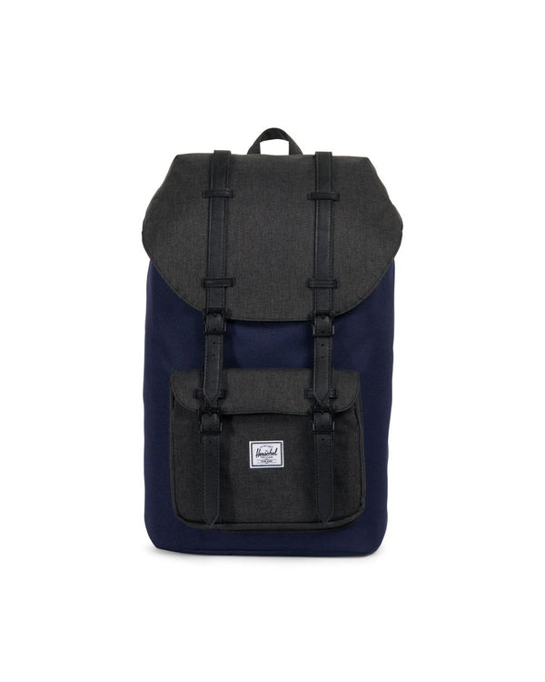 Little America 600D Poly Backpack - PCT/Black