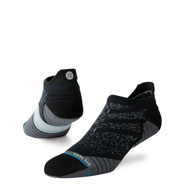 STANCE RUN TAB SOCK - BLACK