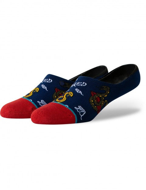 Stance Get Snaked Invisible Sock - Navy