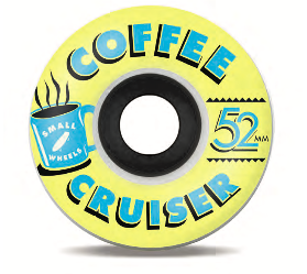 "Sml. Wheels - Coffee Cruisers ""Golden Hour"" - 78a 52mm"