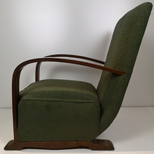 Load image into Gallery viewer, 2 x 1930's Bentwood Armchairs