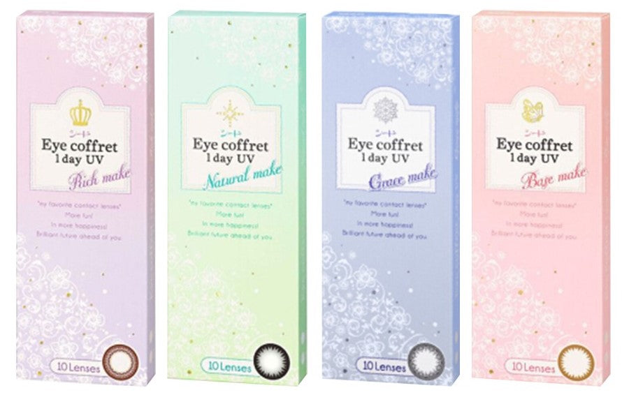 SEED Eye Coffret 1 Day UV Grace Make 32개입 - 렌즈팩토리