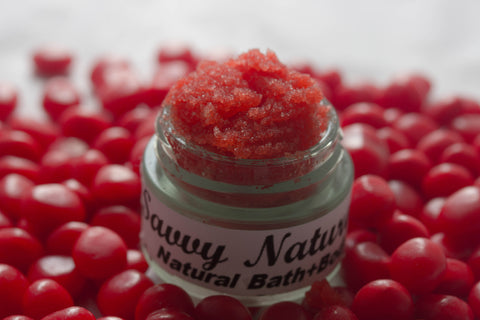 Red Hot Kisses Luscious Lip Scrub