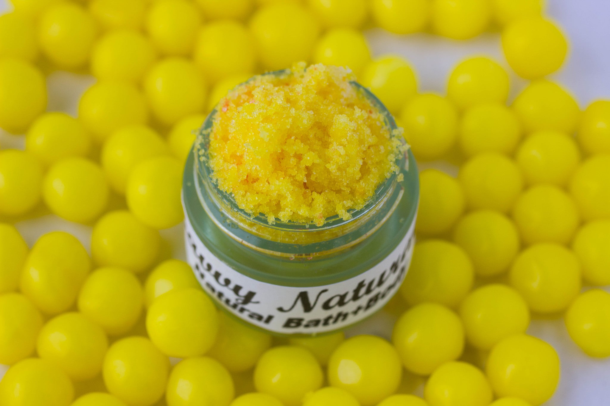 Lemon Pucker Up Luscious Lip Scrub