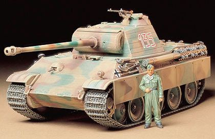 Tamiya - 1/35 German Panther G Early Version
