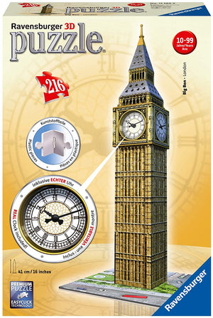 Ravensburger - Big Ben with Clock 216pcs
