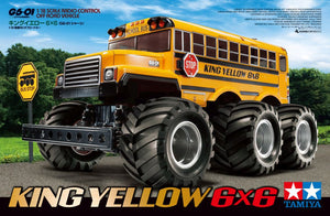 Tamiya - R/C King Yellow 6x6 (G601)