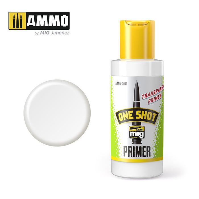AMMO - 2041 One Shot Primer Transparent