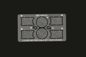Tamiya - 1/35 German King Tiger Photo Etched Grille