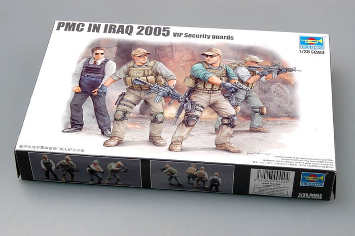 Trumpeter - 1/35 PMC in Iraq 2005 (VIP Security Guards)