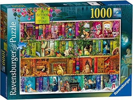 Ravensburger - A Stitch in Time (1000pcs)