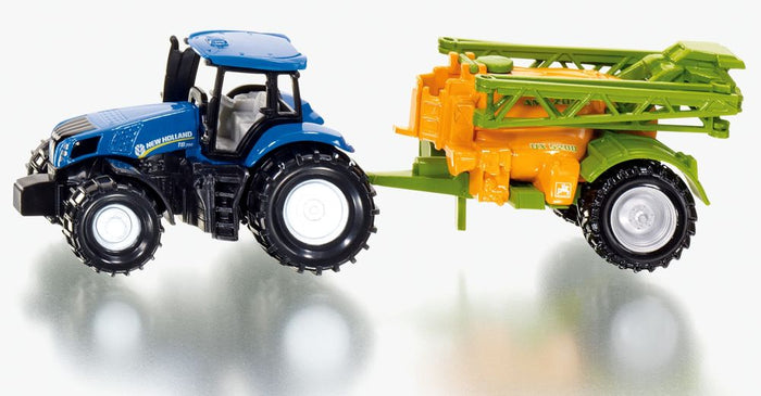 Siku - New Holland Tractor W/ Crop Sprayer