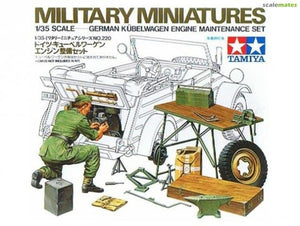 Tamiya - 1/35 Kubelwagen Engine Maintenance Set