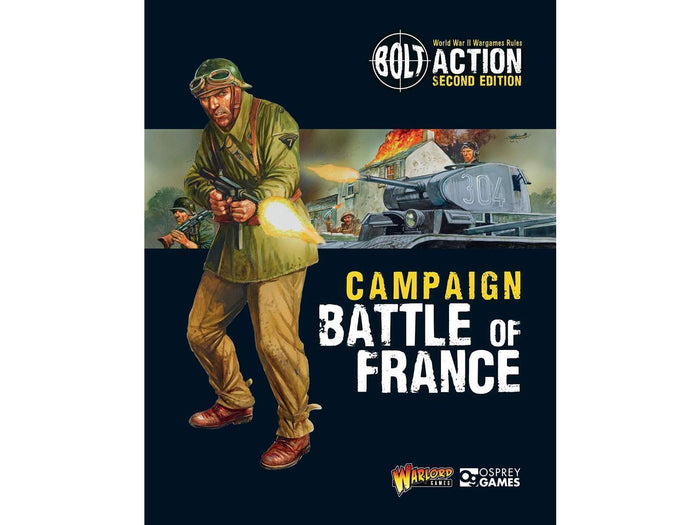 Warlord - Battle of France Campaign Book