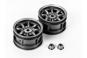 Tamiya - M-Chassis 8-Spoke Wheels for Mini Cooper (2)