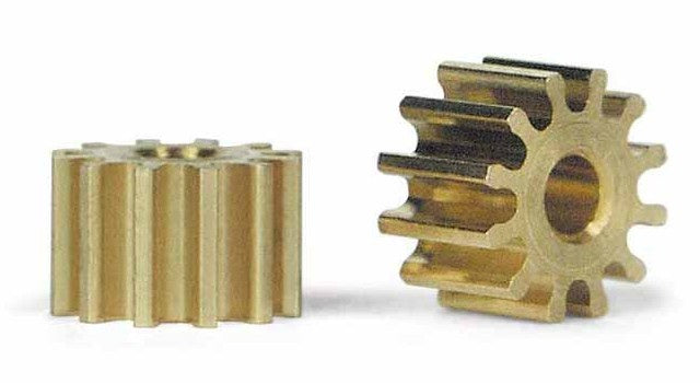 Slot.It - Brass Pinion 12t 6.5mm (2pcs) (PS12)