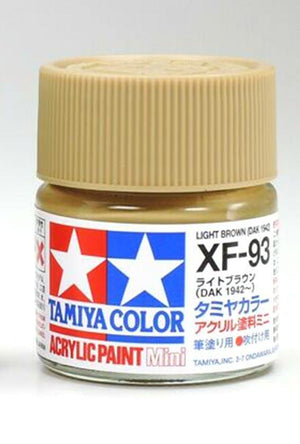 Tamiya - XF-93 Light Brown Mini Acrylic 10ml