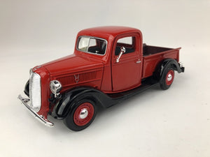 Motor Max - 1/24 Ford Pickup 1937 (Red)