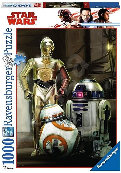 Ravensburger - Star Wars: C3PO - R2D2 and BB8 (1000pcs)