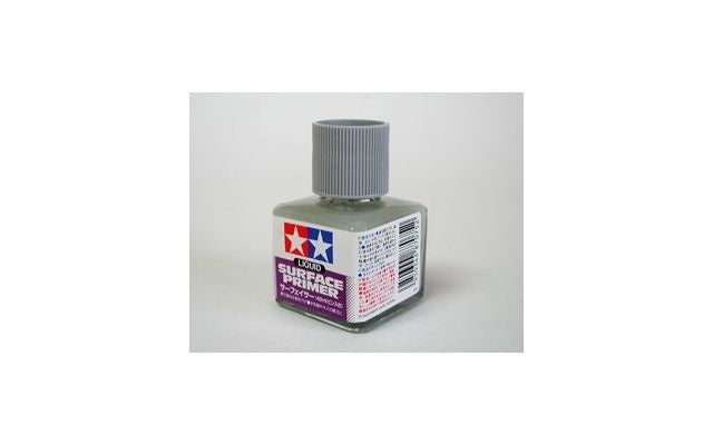 Tamiya - Liquid Surface Primer - Grey (40ml)