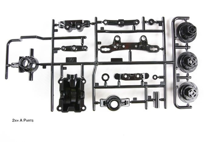 Tamiya - TT02 A Parts (Upright)