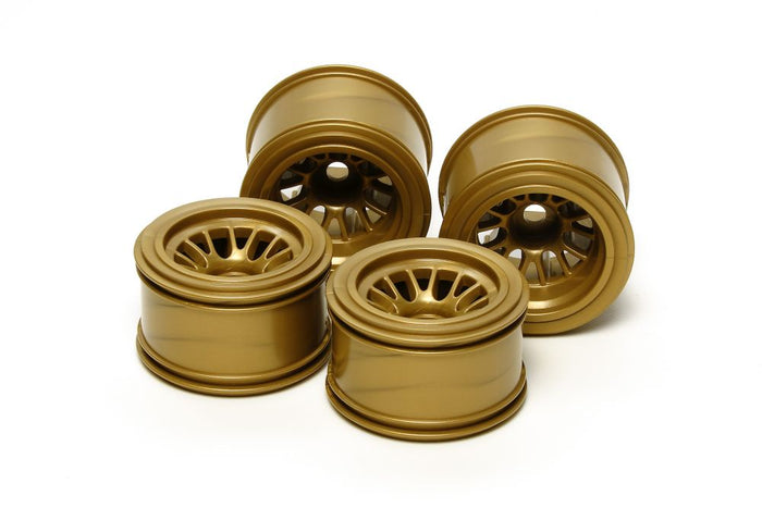 Tamiya - F104 Mesh Wheel Set (Gold)