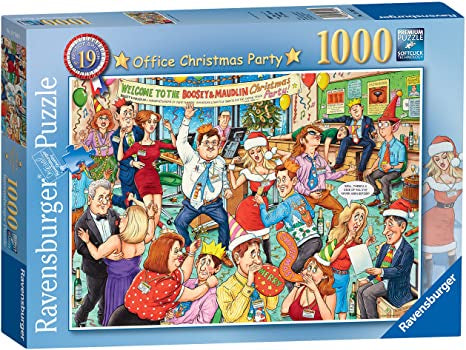 Ravensburger - Best Of British No.19: The Office Christmas Party (1000pcs)