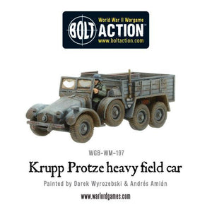 Warlord - Krupp Protze heavy field car (Resin/Metal)