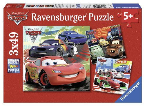 Ravensburger - Disney Cars: Worldwide Racing Fun (3x49pcs)